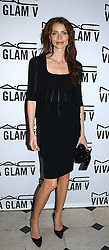 SAFFRON BURROWS at a party to celebrate Pamela Anderson's new role as spokesperson and newest face of the MAC Aids Fund's Viva Glam V Campaign held at Home House, Portman Square, London on 21st April 2005.<br /><br />NON EXCLUSIVE - WORLD RIGHTS