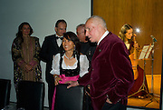 ROSONYN PLATT; DONALD KAHN, Dinner at the Museum der Moderne. Salzburg.  Amadeus Weekend. Salzburg. 23 August 2008.  *** Local Caption *** -DO NOT ARCHIVE-© Copyright Photograph by Dafydd Jones. 248 Clapham Rd. London SW9 0PZ. Tel 0207 820 0771. www.dafjones.com.
