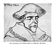 Paul Scofield as Sir Thomas More in A Man for All Seasons