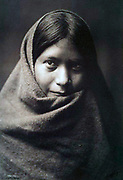Native American Indian: Pakit, Maracopa girl, c1907.