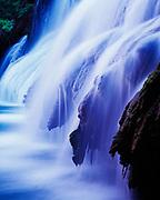 Navajo Falls, Havasu Canyon of the Grand Canyon, Havasupai Reservation, Arizona.