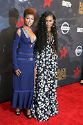 August 5, 2017-New York, New York, NY-United States: (L-R) Actress Taraji P. Henson and DJ Beverly Bond, Founder, Black Girls Rock! attend the 2017 Black Girls Rock! Awards Show powered by BET held at the New Jersey Performing Arts Center on August 3, 2017 in Newark, New Jersey. (Terrence Jennings/terrencejennings.com)