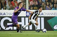 "Per Billeskov Kroldrup ( Fiorentina ) sx - Mauro German Camoranesi ( Juventus ) dx<br /> Firenze 31/08/2008 Stadio ""Franchi"" <br /> Campionato Italiano Serie A 2008/2009<br /> Fiorentina Juventus (1-1)<br /> Foto Davide Elias Insidefoto"