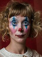 Anne Herholdt, clown.