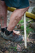 Legs, Loop 3 at the Barkley Marathons.