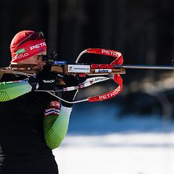 20200207: SLO, Biathlon - Alex Cisar practice session