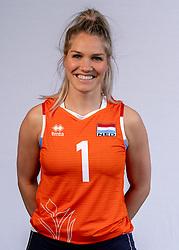 Kirsten Knip of Netherlands, Photoshoot selection of Orange women's volleybal team season 2021on may 12, 2021 in Arnhem, Netherlands (Photo by RHF Agency/Ronald Hoogendoorn)