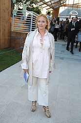 Actress MIRANDA RICHARDSON at a party at the Serpentine Gallery, Kensington Gardens, London to unveil their summer Pavilion designed by Frank Gehry on 20th July 2008.<br /> <br /> NON EXCLUSIVE - WORLD RIGHTS