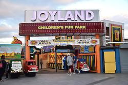 Joyland, children's fun park, Great Yarmouth, Norfolk UK