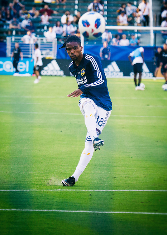 Bradford Jamieson IV. Photos taken in the summer of 2018 for the LA Galaxy home games against D.C. United, Minnesote United, Colorado Rapids and LAFC. Working with head photographer Rob Mora. Major League Soccer. ©justinalexanderbartels.com