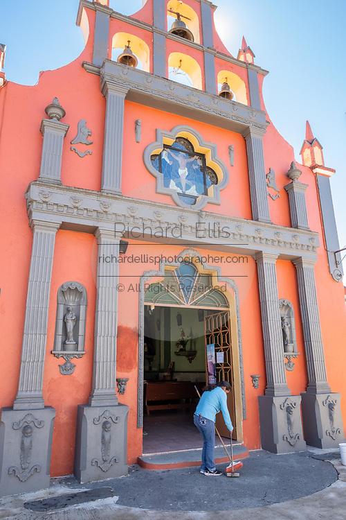 Chapel of the Holy Cross near Xico, Veracruz, Mexico.