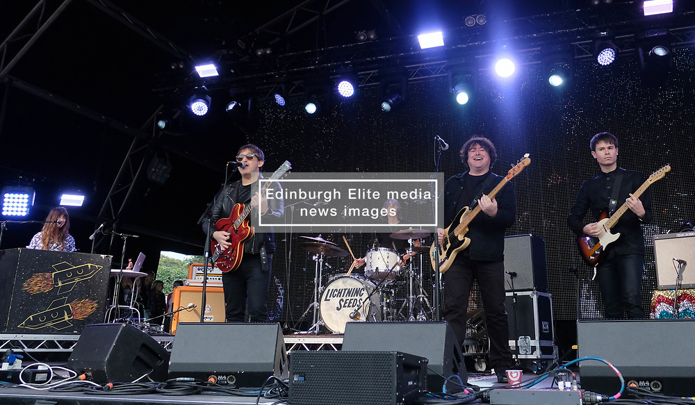 Party at the Palace, Linlithgow, Saturday 12th August 2017<br /> <br /> Lightning Seeds performs at Party at the Palace <br /> <br /> (c) Alex Todd   Edinburgh Elite media