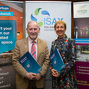 17.05.2016               <br /> A seminar focused on a Start your Own Business programme, targeted at mature entrepreneurs aged 55 plus took place in the Savoy Hotel, Limerick on Tuesday evening, 17 May.  Called Ingenuity, the programme, led by the Ireland Smart Ageing Exchange (ISAX) and sponsored by Bank of Ireland will be run in collaboration with the Local Enterprise Office in Limerick, and will take place over eight weeks, starting in late September 2016.  The seminar provided detailed information on the Start your Own Business programme that will seek interest from those looking to set up both lifestyle and fast-growth businesses.  <br /> <br /> Pictured at the event are, John McNamara, Entrepreneur-in-Residence LIT and Briga Hynes, UL. Picture: Alan Place