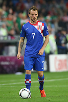 Football - European Championships 2012 - Republic of Ireland v Croatia<br /> Ivan Rakitic of Croatia at the Municipal Stadium, Poznan