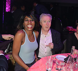 SINITA and LOUIS WALSH at The London Cabaret Club Gala Launch Party at The Collection, 264 Brompton Road, London on 8th May 2014.