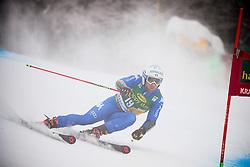 Riccardo Tonetti of Italy competes during 1st run of Men's GiantSlalom race of FIS Alpine Ski World Cup 57th Vitranc Cup 2018, on March 3, 2018 in Kranjska Gora, Slovenia. Photo by Ziga Zupan / Sportida