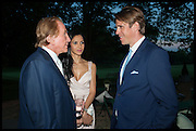 GEOFFREY KENT; OCTAVIA KENT; BEN ELLIOT, Cartier dinner in celebration of the Chelsea Flower Show. The Palm Court at the Hurlingham Club, London. 19 May 2014.