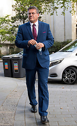 © Licensed to London News Pictures. 10/09/2020. London, UK. European Commission Vice President Maros Sefcovic is seen arriving at the offices of the European Commission in London ahead of a meeting with Michael Gove MP.  British Prime Minister Boris Johnson has threatened to overwrite parts of the EU withdrawal agreement signed with Brussels last October. Photo credit: Ben Cawthra/LNP