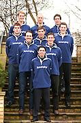 Putney, London, ENGLAND, 30.03.2006, Oxford Oxford UBC.   Bow Robin Ejsmond-Frey, 2. Colin Smith, 3 Tom Parker, 4. Paul Daniels. 5. Jamie Schroeder, 6. Barney Williams, 7 Jake Wetzel, Stroke Bastien Ripoll,  Cox Seb Pearce,2006, Boat Race, Weigh-in, Hurlingham Club,  © Peter Spurrier/Intersport-images.com, [Mandatory Credit Peter Spurrier/ Intersport Images] Varsity, Boat race. Rowing Course: River Thames, Championship course, Putney to Mortlake 4.25 Miles