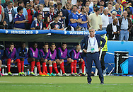 France Manager Didier Deschamps during the Group A Euro 2016 match between France and Romania at the Stade de France, Saint-Denis, Paris, France on 10 June 2016. Photo by Phil Duncan.