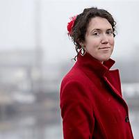 Nederland, Amsterdam, 28 december 2016.<br />Journalist en tekstschrijver Gemma Venhuizen.<br /><br /><br /><br />Foto: Jean-Pierre Jans