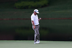 September 21, 2017 - Atlanta, Georgia, United States - Charley Hoffman waits on the 9th green during the first round of the TOUR Championship at the East Lake Club. (Credit Image: © Debby Wong via ZUMA Wire)