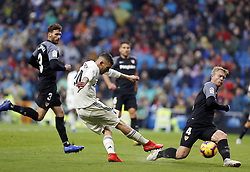January 19, 2019 - Madrid, Madrid, Spain - Dani Ceballos (Real Madrid) seen in action during the La Liga football match between Real Madrid and Sevilla FC at the Estadio Santiago Bernabéu in Madrid. (Credit Image: © Manu Reino/SOPA Images via ZUMA Wire)