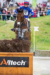 Nicolas Wettstein, (ECU), Nadeville Merze - Eventing Cross Country test - Alltech FEI World Equestrian Games™ 2014 - Normandy, France.<br /> © Hippo Foto Team - Leanjo de Koster<br /> 30/08/14