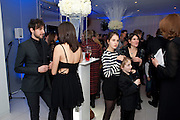 ALEX ZANE; IRAINA MANCINI, English National Ballet's party before performance of the ' The Nutcracker. St. Martin's Lane Hotel. London 14 December 2011.