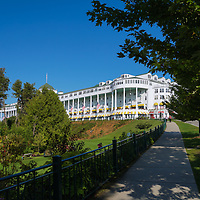 """""""Grand Hotel Mackinac Island 3""""<br /> <br /> Enjoy a lovely walk to and from the Grand Hotel on Mackinac Island!"""