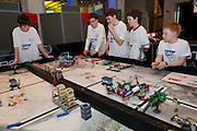 16/02/2014   Termin8tors at this year's SAP FIRST Lego League Challenge at the Radisson Blu Hotel Galway. Photo:Andrew Downes.