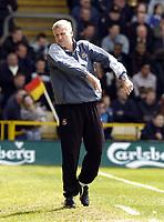 Fotball<br /> England 2004/2005<br /> Foto: SBI/Digitalsport<br /> NORWAY ONLY<br /> <br /> Watford v West Ham United Coca-Cola Championship.<br /> <br /> West Ham manager Alan Pardew gets angry.