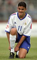 Fotball<br /> EM-kvalifisering for U 17-landslag<br /> Gruppe A<br /> Tyrkia v Frankrike<br /> 9. mai 2004<br /> Foto: Digitalsport<br /> NORWAY ONLY<br /> <br />  HATEM BEN ARFA (FRA)
