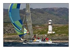 Bell Lawrie Scottish Series 2008. Fine North Easterly winds brought perfect racing conditions in this years event. ..1427C Guilty, Douglas Clow, CCC/Royal Gourock YC, Gib Sea 114