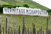 vineyard domaine m chapoutier hermitage rhone france