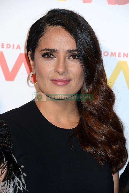 September 29, 2016 - New York, New York, USA - Salma Hayek attends The Women's Media Center 2016 Women's Media Awards at Capitale on September 29, 2016 in New York City. (Credit Image: © Future-Image via ZUMA Press)