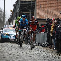 Sportfoto archief 2013<br /> Ronde van Vlaanderen, Oude Kwaremont met o.a. Martijn Maaskant