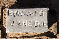 Jane Doe, Paupers Cemetery, Holtville, CA