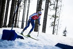 Mari Eder (FIN) during the Mass Start Women 12,5 km at day 4 of IBU Biathlon World Cup 2019/20 Pokljuka, on January 23, 2020 in Rudno polje, Pokljuka, Pokljuka, Slovenia. Photo by Peter Podobnik / Sportida