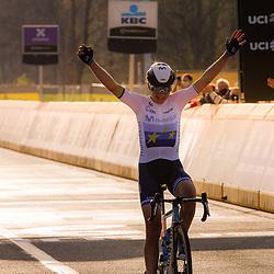 04-04-2021: Wielrennen: Ronde van Vlaanderen (Vrouwen): Oudenaarde<br /> Annemiek Van Vleuten (Netherlands / Team Movistar) wins womensrace Flanders