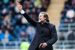 Steven Pressley, Falkirk manager. Falkirk 1 v 0 Dunfermline, 16/2/2013..©Michael Schofield.