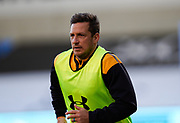 Wasps Jimmy Gopperth warms up during the Gallagher Premiership Rugby match Sale Sharks -V- Wasps  at The AJ Bell Stadium, Greater Manchester, England United Kingdom, Sunday, December 27, 2020. (Steve Flynn/Image of Sport)