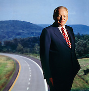 Philip Caldwell, CEO of Ford