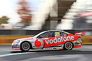 Jamie Whincup (Team Vodafone). ITM 400 ~ Race 5 & 6 of the 2011 V8 Supercar Championship Series. Hamilton Street Circuit on Friday 15 April 2011. Photo © Clay Cross / PHOTOSPORT