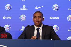 PSG's New Player Kylian Mbappe Press Conference - Paris 6 Sep 2017