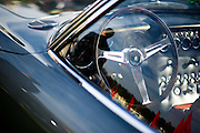August 14-16, 2012 - Pebble Beach / Monterey Car Week. Lamborghini 400GT steering wheel detail