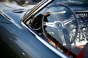 August 14-16, 2012 - Pebble Beach / Monterey Car Week. Lamborghini 400GT steering wheel detail