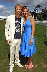 SAM BRANSON and his sister HOLLY BRANSON at the Cartier International polo at Guards Polo Club, Windsor Great Park, on 30th July 2006.<br /><br />NON EXCLUSIVE - WORLD RIGHTS