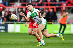 11th November 2018 , Racecourse Ground,  Wrexham, Wales ;  Rugby League World Cup Qualifier,Wales v Ireland ; James Bentley of Ireland in action<br /> <br /> <br /> Credit:   Craig Thomas/Replay Images