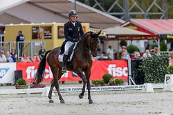Dibowski Andreas, GER, FRH Corrida<br /> European Championship Eventing<br /> Luhmuhlen 2019<br /> © Hippo Foto - Dirk Caremans